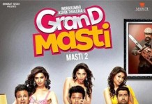 Grand Masti Movie Poster feat. Vivek, Riteish and Aftab