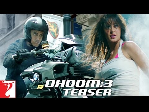 Dhoom 3 Teaser Trailer : Aamir Khan steals the show