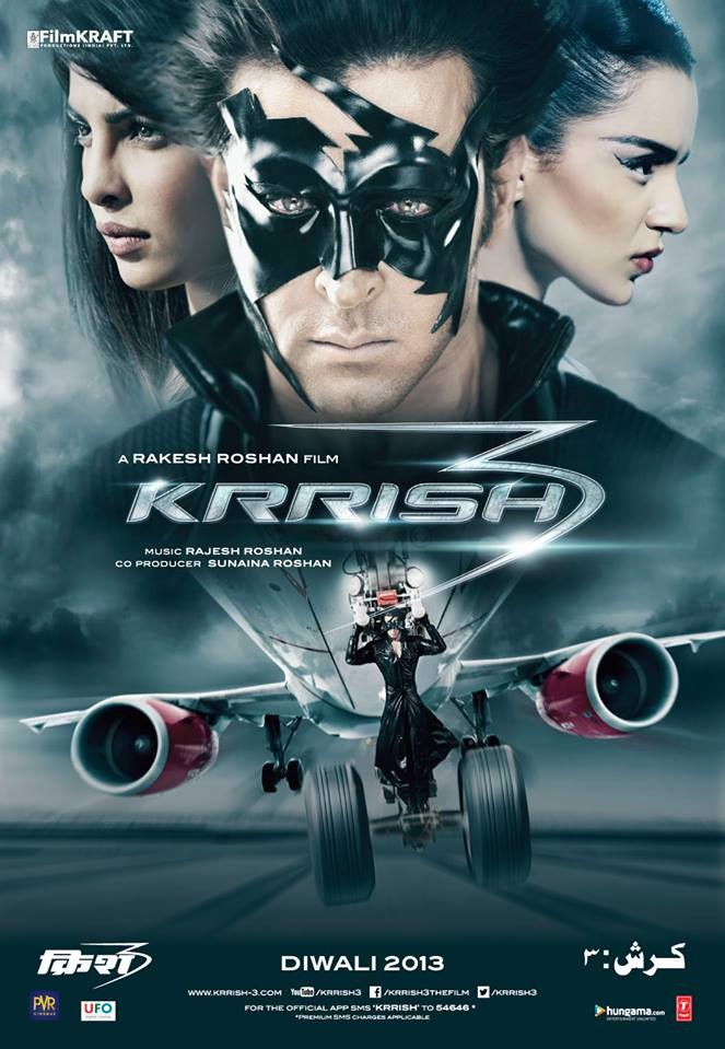 Krrish 3 Character poster