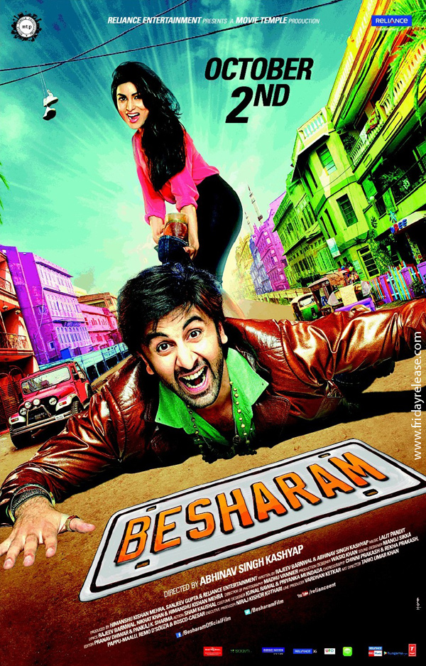 It will be Ranbir as Besharam this Friday.