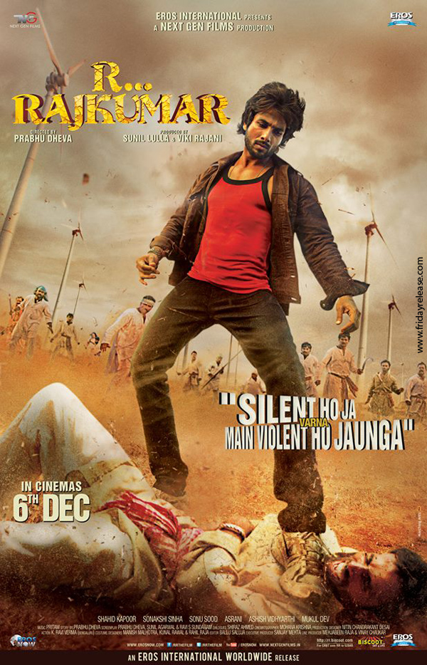 R…Rajkumar Trailer 2nd (Theatrical): Shahid's Rowdy Avatar