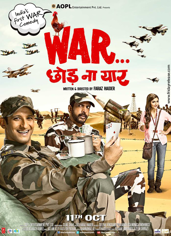 War Chhod Na Yaar second poster