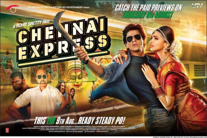 Chennai Express : First Words on the movie