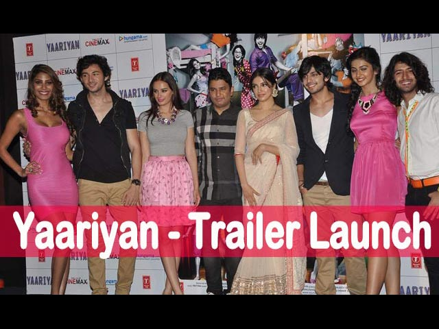 Yaariyan Trailer Launch event