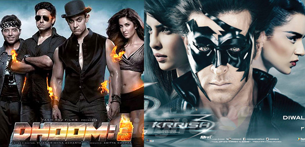 Dhoom 3 vs Krrish 3 First Weekend Collections | Box Office Collections