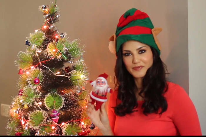 Bollywood stars as Santa Claus