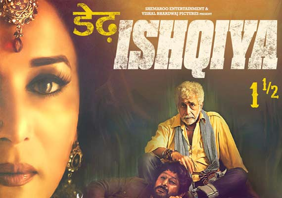 Dedh Ishqiya Movie Review – A cinematic punch | Movie Reviews