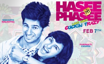 Hasee to Phasee Poster feat. Siddharth Malhotra and parineeti chopra