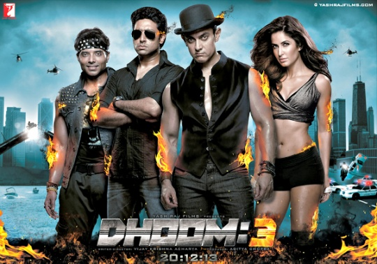 Dhoom 3 Sixth Day Collections | Box Office Collections (6 Days total)