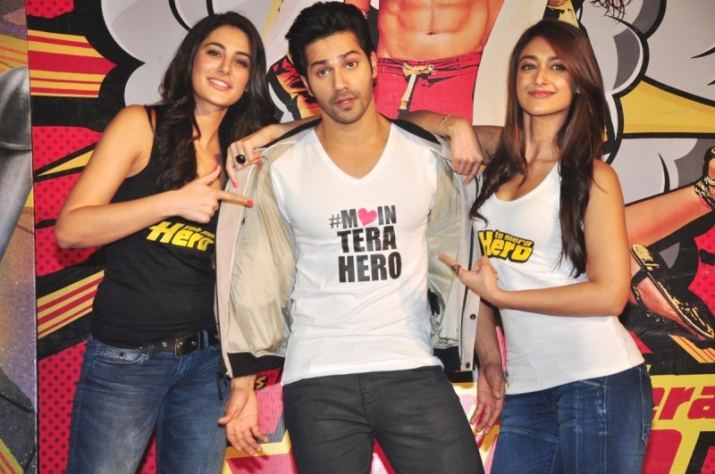 Besharmi ki Height Lyrics Video Song | Main tera Hero Official Lyrics