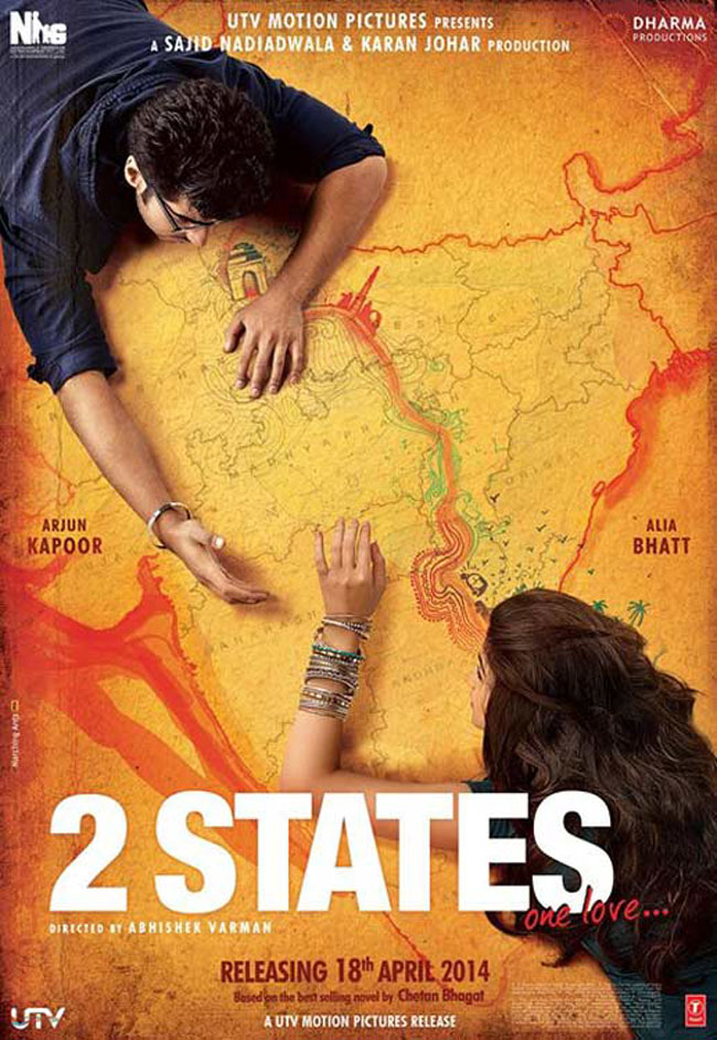 Top 10 grossers of Bollywood 2014 - 2 States at No. 7