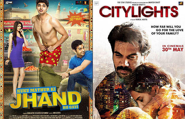 May 30 2014 Releases : Kuku Mathur Ki Jhand Ho Gayi And City Lights
