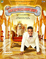 Entertainment first look poster