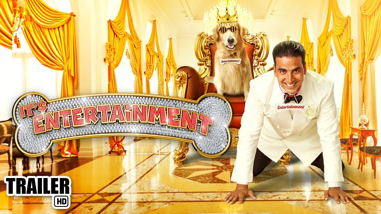 It's Entertainment Trailer : Akshay Kumar's brainless comedy is back