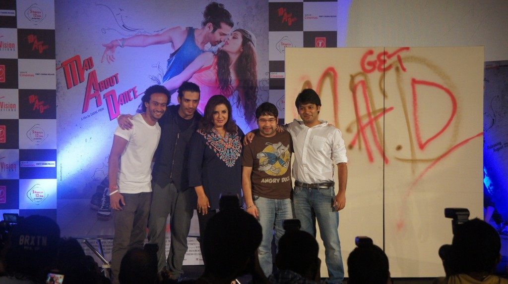 Mad About Dance Trailer launched by Farah Khan