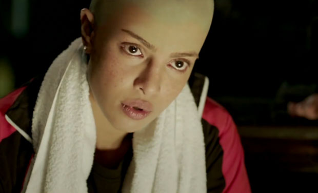 Priyanka goes bald for a scene in 'Mary Kom'