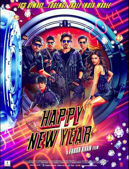 Shahrukh Khan's 'Happy New Year' world tour