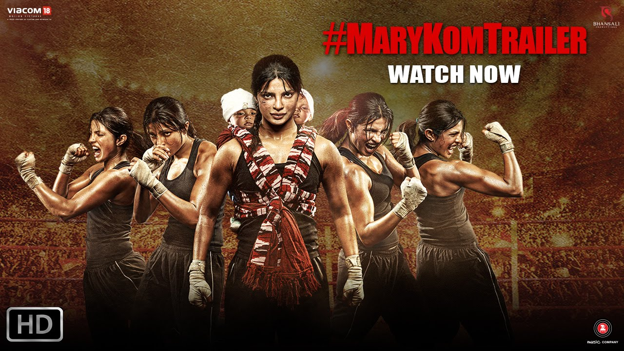Mary Kom Trailer : Priyanka Chopra's powerful punch !