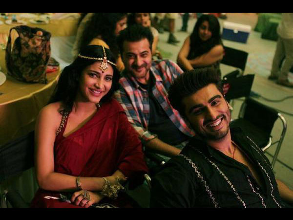 Shruti Haasan's item number in Tevar along with Arjun Kapoor!