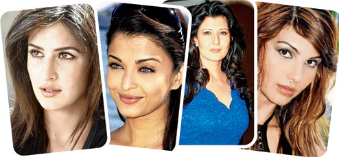 Salman Khan's ex-girlfriends- Katrina, Aishwarya, Sangeeta and Somy Ali.