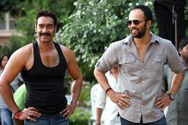 Ajay Devgn and Rohit Shetty