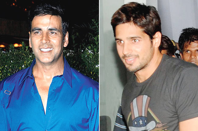 Brothers Starcast and Release date : Akshay and Siddharth as Brothers