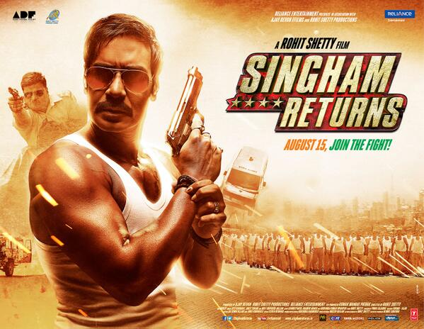 Singham Returns Critics Movie Review : Movie fails to impress