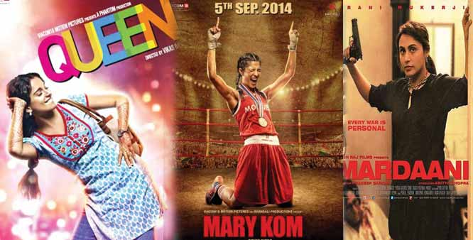 Women's Day 2017 Special | Top 10 Female-Centric Bollywood Movies That Showed Women Empowerment