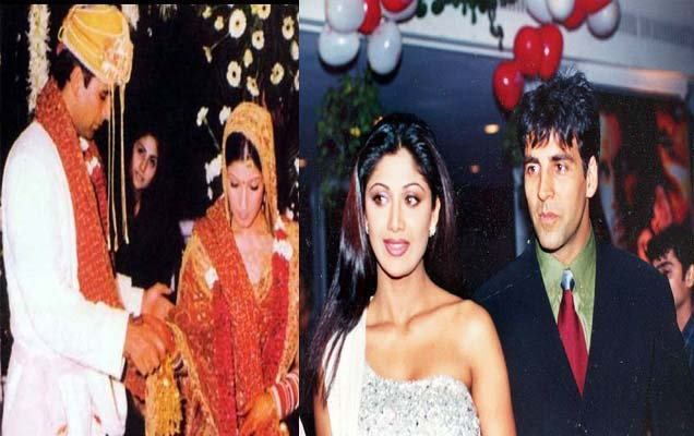 Top 16 Real Life Love Triangles of Bollywood - Akshay Kumar - Shilpa Shetty - Twinkle Khanna