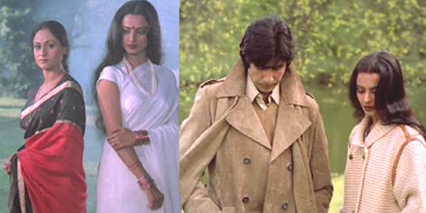 Top 16 Real Life Love Triangles of Bollywood - Amitabh Bachchan - Jaya Bachchan – Rekha