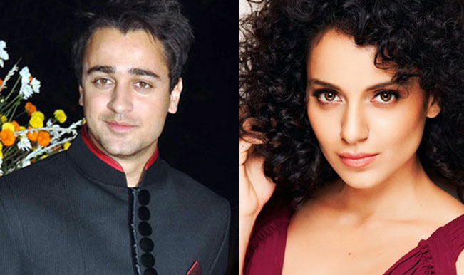 Kangana Ranaut to play pregnant girlfriend in Katti Batti co-starring Imran Khan