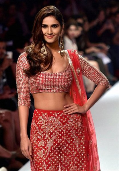 Vaani Kapoor walks for designer Payal Singhal