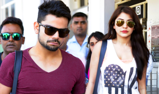 Anushka Sharma Spotted at Virat's Residence