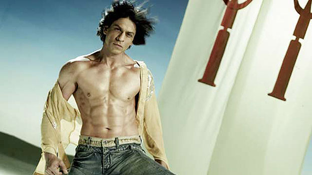 SRK eight pack abs look in Happy New Year