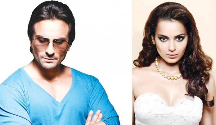 Saif Ali Khan and Kangana together for Reema Kagti's Mr. Chalu