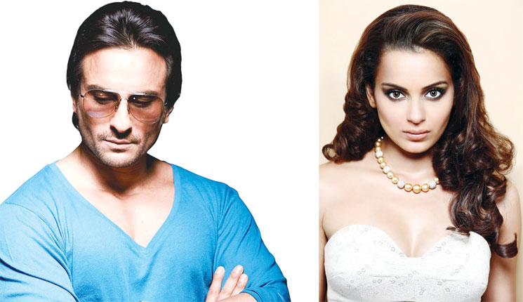 Saif and Kangana together for Reema Kagti's Mr. Chaalu