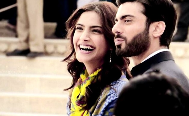 Sonam and Fawad in Khoobsurat