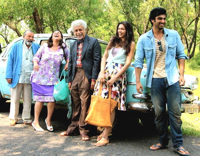 Starcast of Finding Fanny