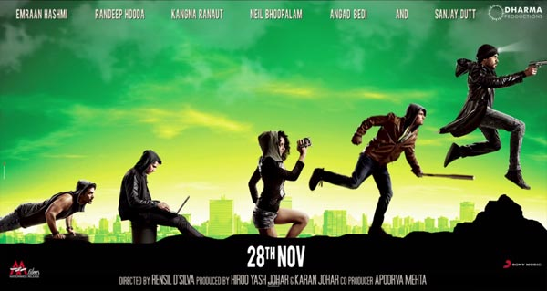 Ungli Motion Poster still