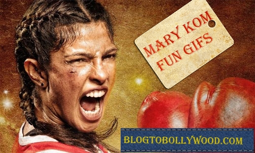 Watch Mary Kom Movie in GIFs : Enjoy Some Crazy Mary Kom Movie GIFs doing Round