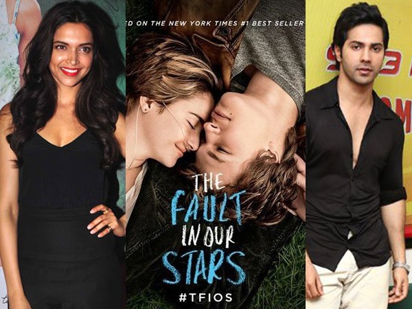 Deepika and Varun  in The Fault in our Stars remake