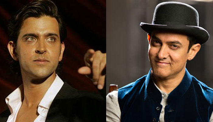 Aamir Khan accepts Hrithik's dare to put the transistor down!