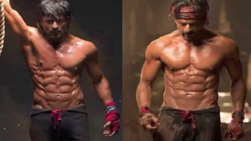 Reasons to watch and not to watch Happy New Year - SRK 8 pack abs