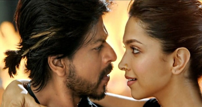 Deepika and SRK in Happy New Year