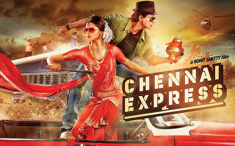 Highest grossing movies of India - Chennai Express at no. 10