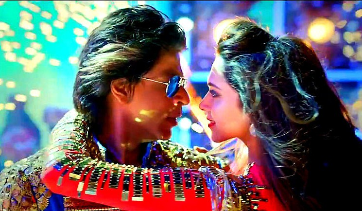 SRK and Deepika in Happy New year