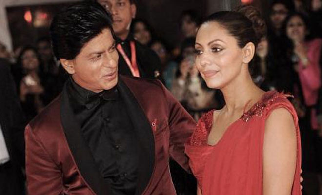 SRK and Gauri Khan
