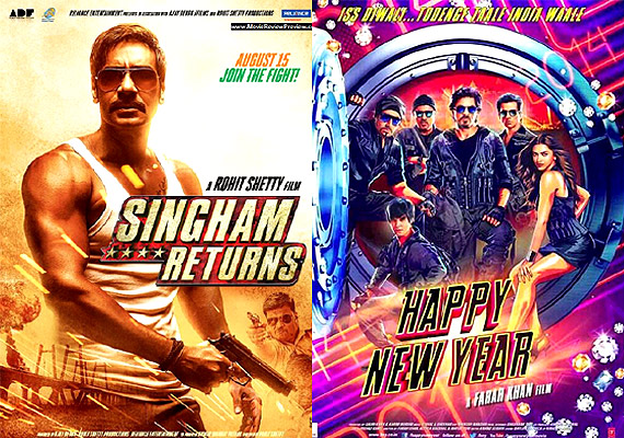 HNY becomes 3rd highest grosser of 2014, beats Singham Returns