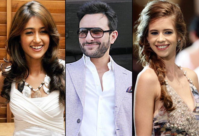 Starcast of Happy Ending : Saif, Illeana and Kalki
