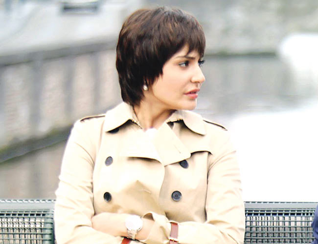 Anushka Sharma's short hair look for PK